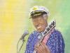 Chuck Berry Rock n Roll icon by Zamudio