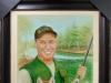 Portrait of  Fisherman,18x24, pastels, David Zamudio