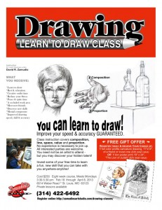 Drawing Classes St Louis Flyer Zamudios Studio