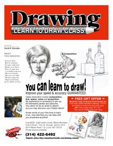 Drawing Classes St Louis Zamudios image