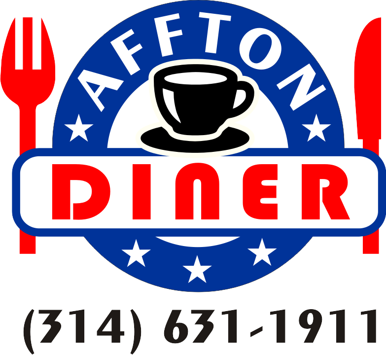 Logo design Affton Diner by Zamudios Studio