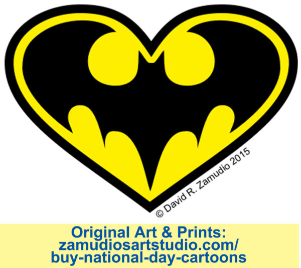 Cartoon Bat-Appreciation Day Zamudio