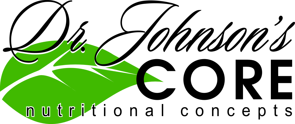 Logo design Dr Johnsons Core Nutritional Concepts by Zamudios Studio