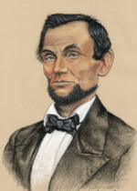 Lincoln 1860, pastels D Zamudio