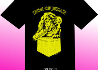 Lion of Judah shirt by Zamudio