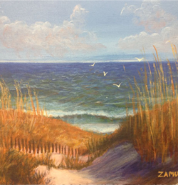 Paintings - Weddings, Landscapes, seascapes, Still life and abstract by Zamudio