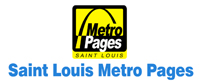 Logo design Saint Louis Metro Pages by Zamudios Studio