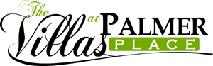 Logo design Villas at Palmer Place by Zamudios Studio